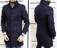 Пальто мужское драповое пуговицы Tурция  Супер качество