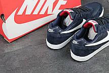 Мужские кроссовки Nike, темно синие с красным 44р, фото 3