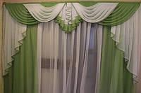 Ламбрекен в зал со шторами