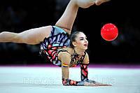 Мяч гимнастический Lanhua диаметр 18см в коробке, 7 цветов