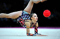 М'яч гімнастичний Lanhua 1265: діаметр 18 см, 7 кольорів
