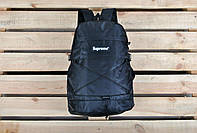 Рюкзак Supreme / саприм черный / суприм черный