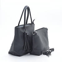 Женская сумка 2в1 1654 черная
