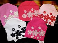 Трикотажная шапка для девочки Польша