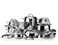 Набор посуды Vinzer Grand Majesty New 89036 (19 предметов)