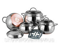 Набор посуды Vinzer Majestic Optima 89041 (9 предметов)