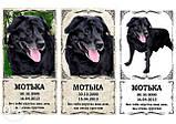 Памятные и ритуальные таблички для животных (изготовление 1 час), фото 3