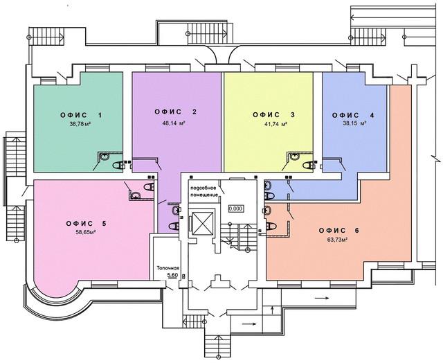 Продажа помещения коммерческого назначения в новом жилом комплексе «Теплый дом» по улице Паустовского, Одесса.