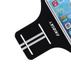 """Спортивный чехол на руку для смартфонов Sea & sky с диагональю до 5,5"""" дюймов оранжевый, фото 7"""