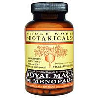 Whole World Botanicals, Королевская мака для менопаузы, 500 мг, 120 растительных капсул