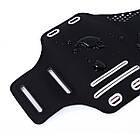 """Спортивный чехол на руку для смартфонов Sea & sky с диагональю до 5"""" дюймов черный, фото 5"""