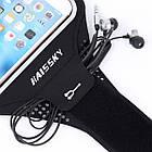 """Спортивный чехол на руку для смартфонов Sea & sky с диагональю до 5"""" дюймов оранж, фото 4"""