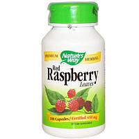 Natures Way, Красная малина, листья, 450 мг, 100 капсул