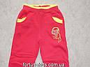 Трикотажные  спортивные брюки с начесом для девочек SINCERE 98-128  р.р., фото 4