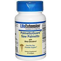 Life Extension, PalmettoGuard Пальма сереноа, 30 гелевых капсул