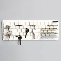 Ключница-органайзер Keys Board Qualy (белая)