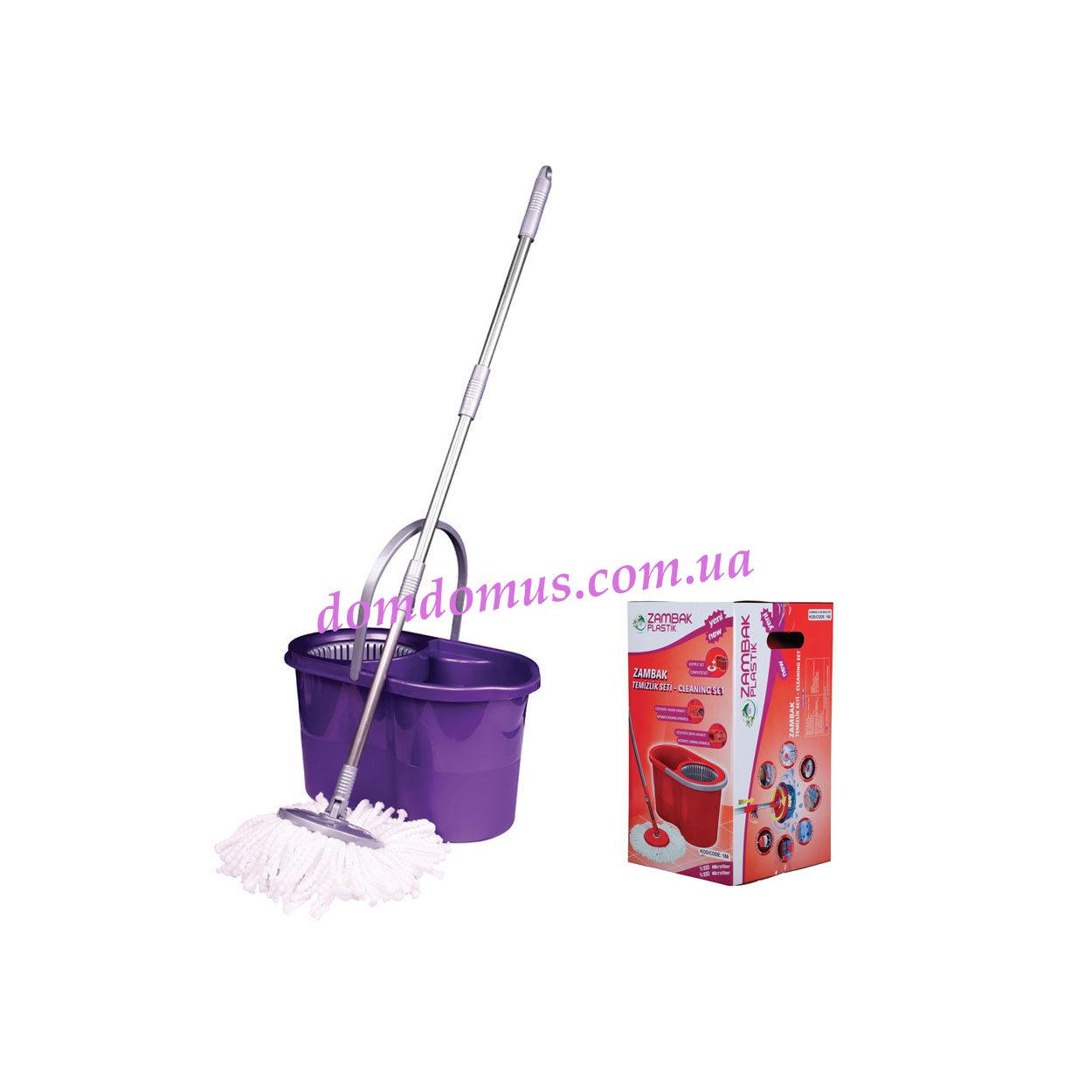 Набор для уборки (ведро, швабра) 188 Zambak Plastik, Турция