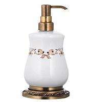 Керамический дозатор мыла KUGU MEDUSA FREESTAND