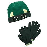 Комплект шапка и перчатки для мальчика Carters , Размер 4-8, Размер 4-8