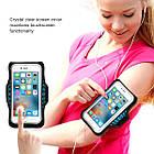 """Спортивный чехол на руку для смартфонов Sea & sky с диагональю до 5"""" дюймов голубой, фото 3"""