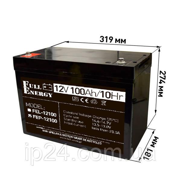 Аккумуляторная батарея FEP-12100