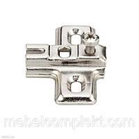 Монтажная планка для петли Metalla Mini крест Н-0мм