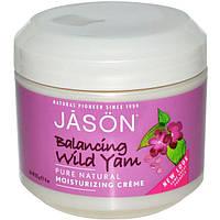 Jason Natural, Увлажняющий и балансирующий крем с бататом, 4 унции (113 г)