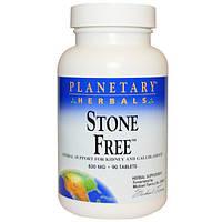 Planetary Herbals, Stone Free, 820 мл, 90 таблеток