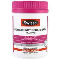 Swisse, Ultiboost, сила клюквы, 25000 мг, 100 капсул