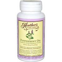 Heathers Tummy Care, успокоительное для кишечника с маслом перечной мяты, 90 гелевых капсул, покрытых оболочкой