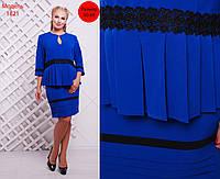 Новая коллекция для женнщин PLUS SIZE!Обворожительный, женский костюм юбка-карандаш + блуза. РАЗНЫЕ ЦВЕТА