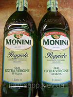 Оливковое масло Monini Poggiolo  exsta virgin, 1л, фото 1