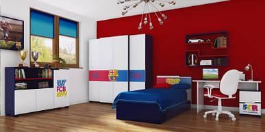 Комплект для молодежной комнаты Barcelona club