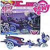 My Little Pony Friendship Is Magic Collection Moonlight Chariot with Pony Лунная колесница с пони , фото 3