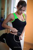 Майка для фитнеса женский спортивный