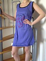 Хлопковая женская ночная сорочка ТМ Dalmina Secret, Турция, 100% хлопок. Разные цвета, размеры.