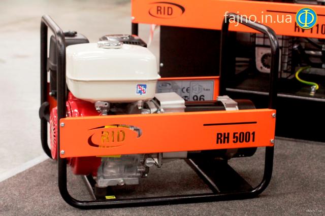 Бензиновый генератор RID RH 5001 E фото 1