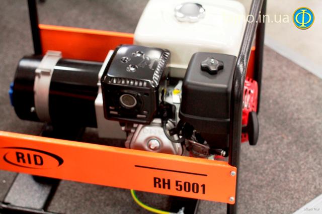 Бензиновый генератор RID RH 5001 E фото 2