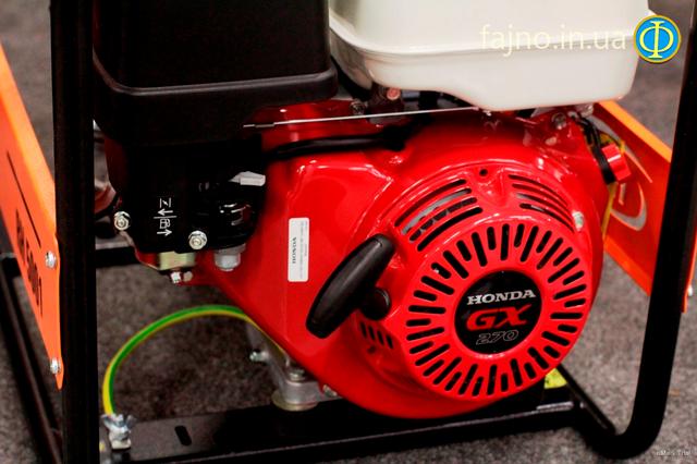 Бензиновый генератор RID RH 5001 E фото 3