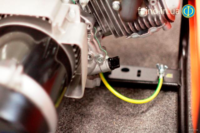 Бензиновый генератор RID RH 5001 E фото 4