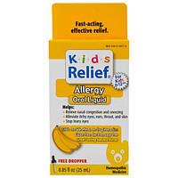Homeolab USA, Облегчение аллергии у детей старше 2 лет. Банановый вкус 0.85 жидких унции (25 мл)
