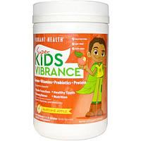 Vibrant Health, Super Kids Vibrance, порошок для приготовления напитка, фантастическое яблоко, 9,78 унции (277,2 г)