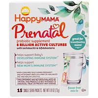 Nurture Inc. (Happy Baby), Пренатал, пробиотическая пищевая добавка, без ароматизаторов, 15 порционных пакетиков - 0,8 унции (23 г)