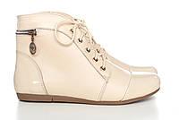 Бежевые ботинки 0515-07b