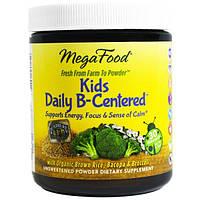 MegaFood, Добавка Ежедневная для детей с упором на витамин B, 1,1 унции (32,1 г)
