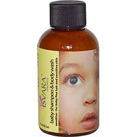 Isvara Organics, Детский шампунь и гель для тела, для чувствительной кожи, 88,72 мл (3 жидкие унции)