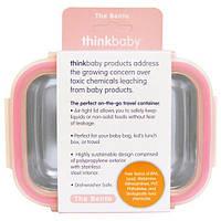 Think, Thinkbaby, ланч бокс, розовый, 9 унций (250 мл)