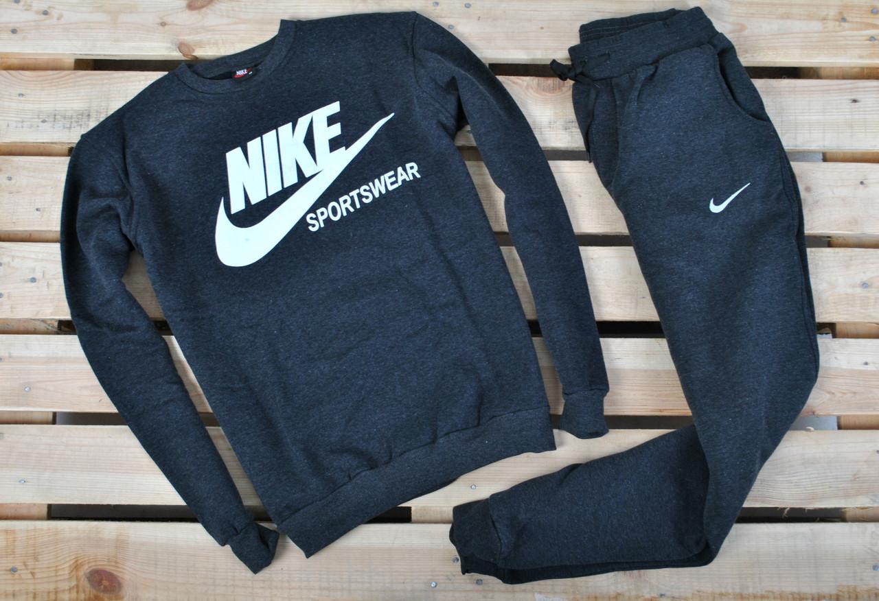 detailed look ef8c1 48a77 Спортивный костюм утепленный в стиле Nike Sportwear темно