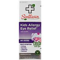 Similasan, Средство против аллергии глаза у детей, стерильные глазные капли, возраст от 2 лет, 10 мл (0,33 жидк. унц. )
