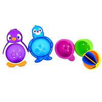 Munchkin, Игрушки для ванной Ленивые буйки, 12 месяцев, набор из 5 игрушек